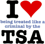 I [heart] being treated like a criminal by the TSA