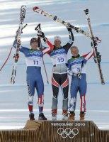 Men's Super-G Medalists