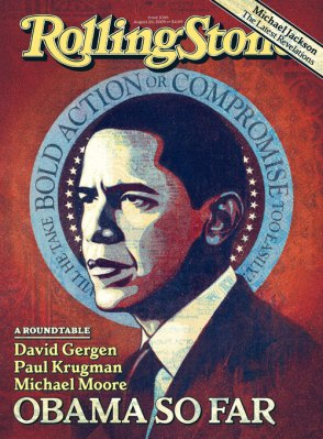 Obama Rolling Stone halo cover