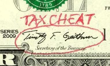 Geithner signature