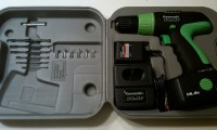 My brand new Kawasaki power drill (click to view larger)