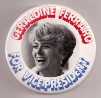 Ferraro '84 campaign button
