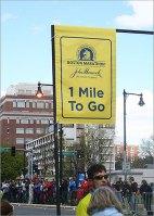 Kenmore Square on the Boston Marathon route