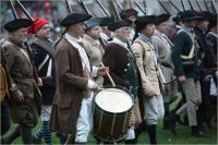 Lexington battle reenactment