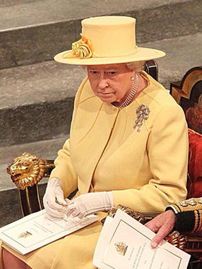 Queen Elizabeth keeping it real