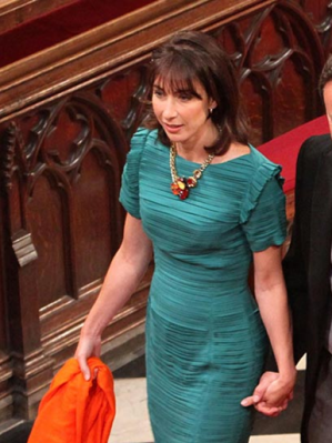 Samantha Cameron does her own thang