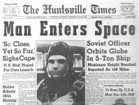 Yuri Gagarin headline