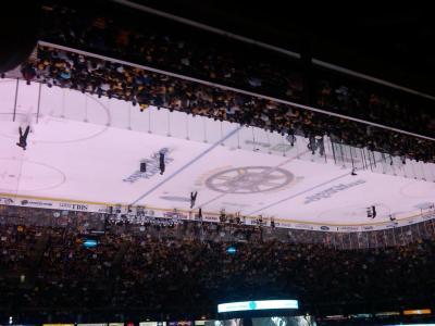 Bruins upside-down