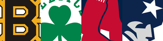Bruins Celtics Red Sox Patriots