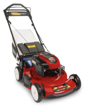 "Toro 22"" Personal Pace self-propelled gas mower"