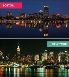 Boston vs. New York