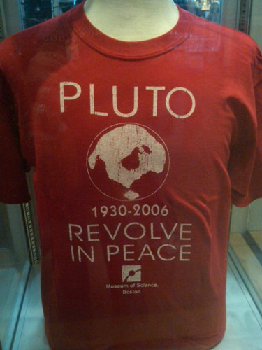 Pluto, R.I.P. - Museum of Science, Boston, MA