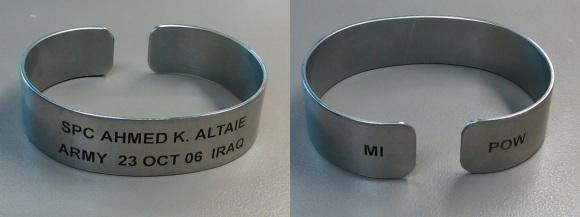 Altaie POW bracelet