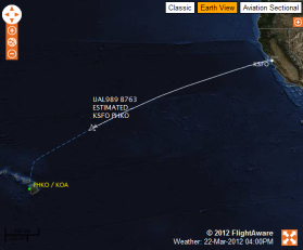 FlightAlert tracking