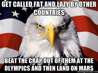 Fat lazy eagle