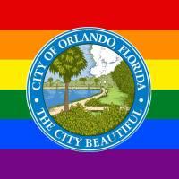 Orlando rainbow flag